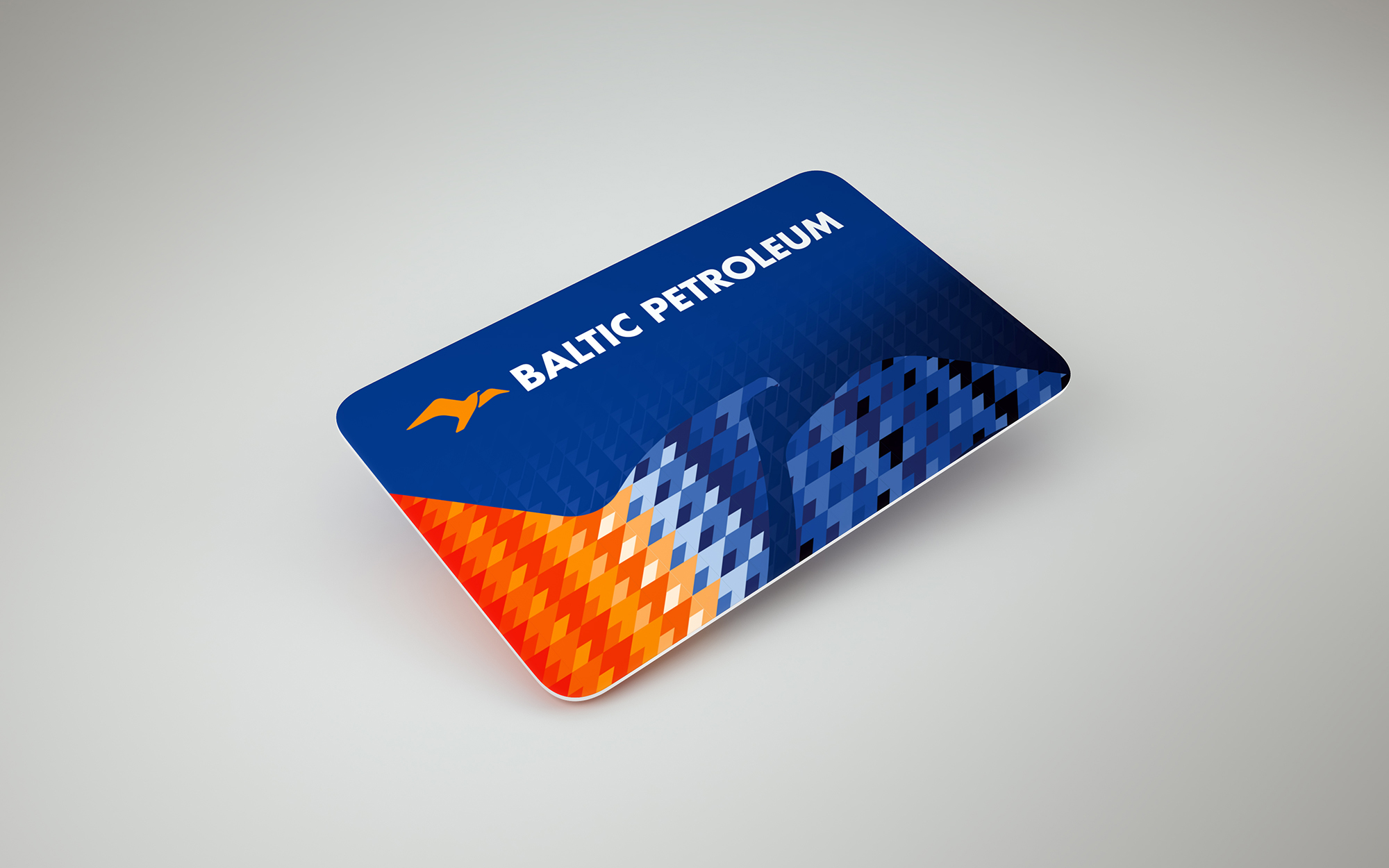 Baltic Petroleum loyalty card blue