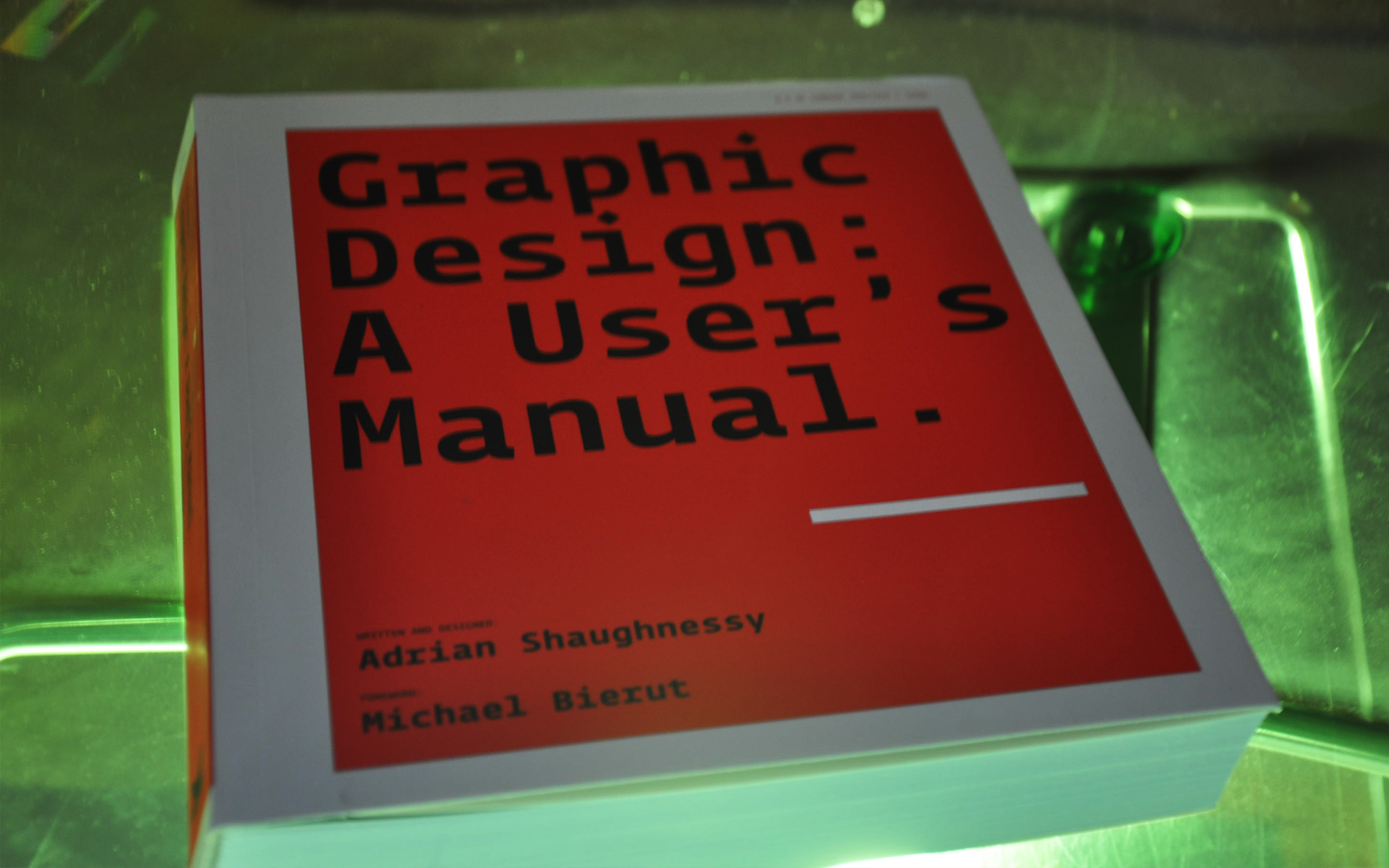 Graphic design: a users manual book