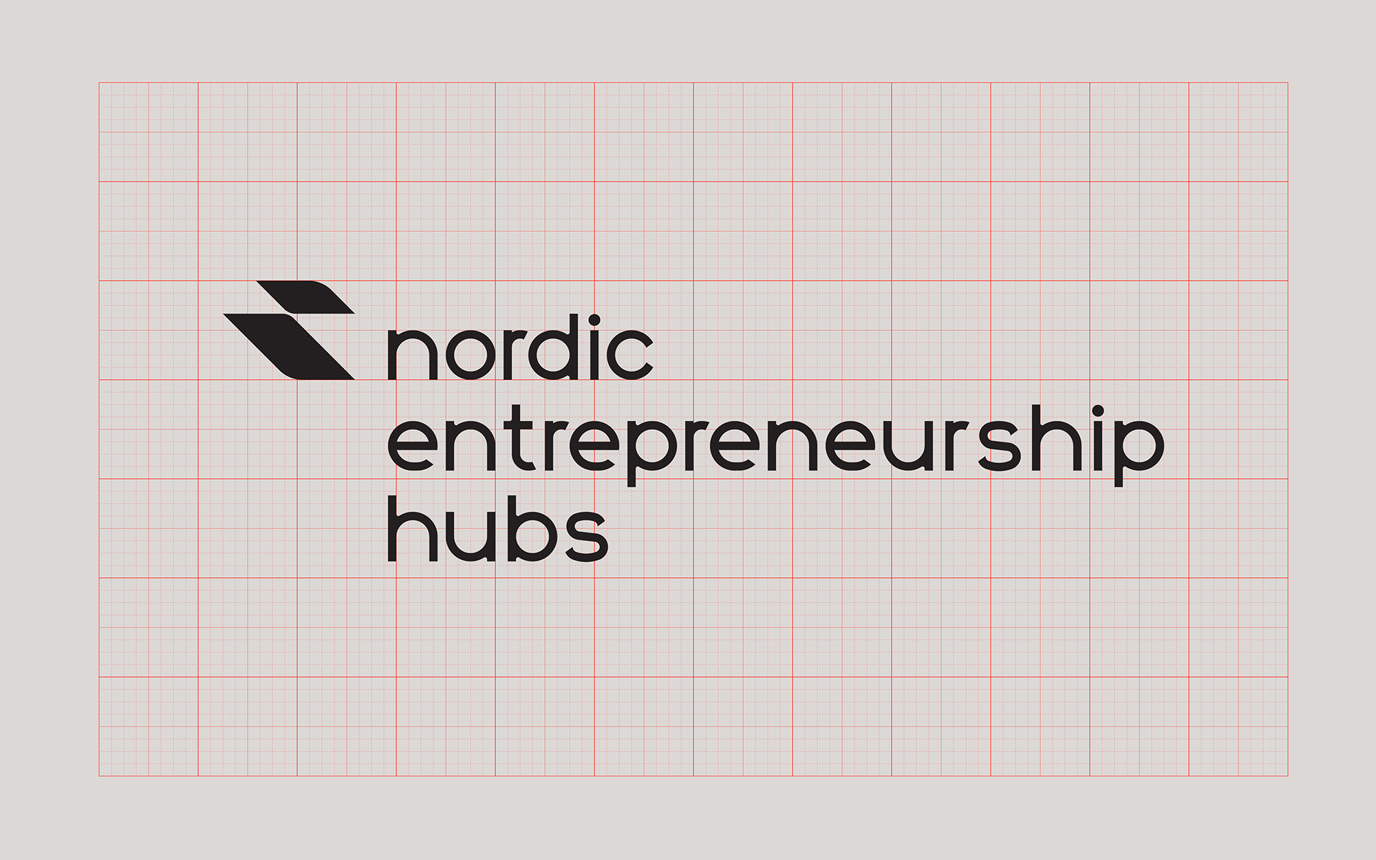 Nordic Entrepreneurship Hubs logo - full version - grid