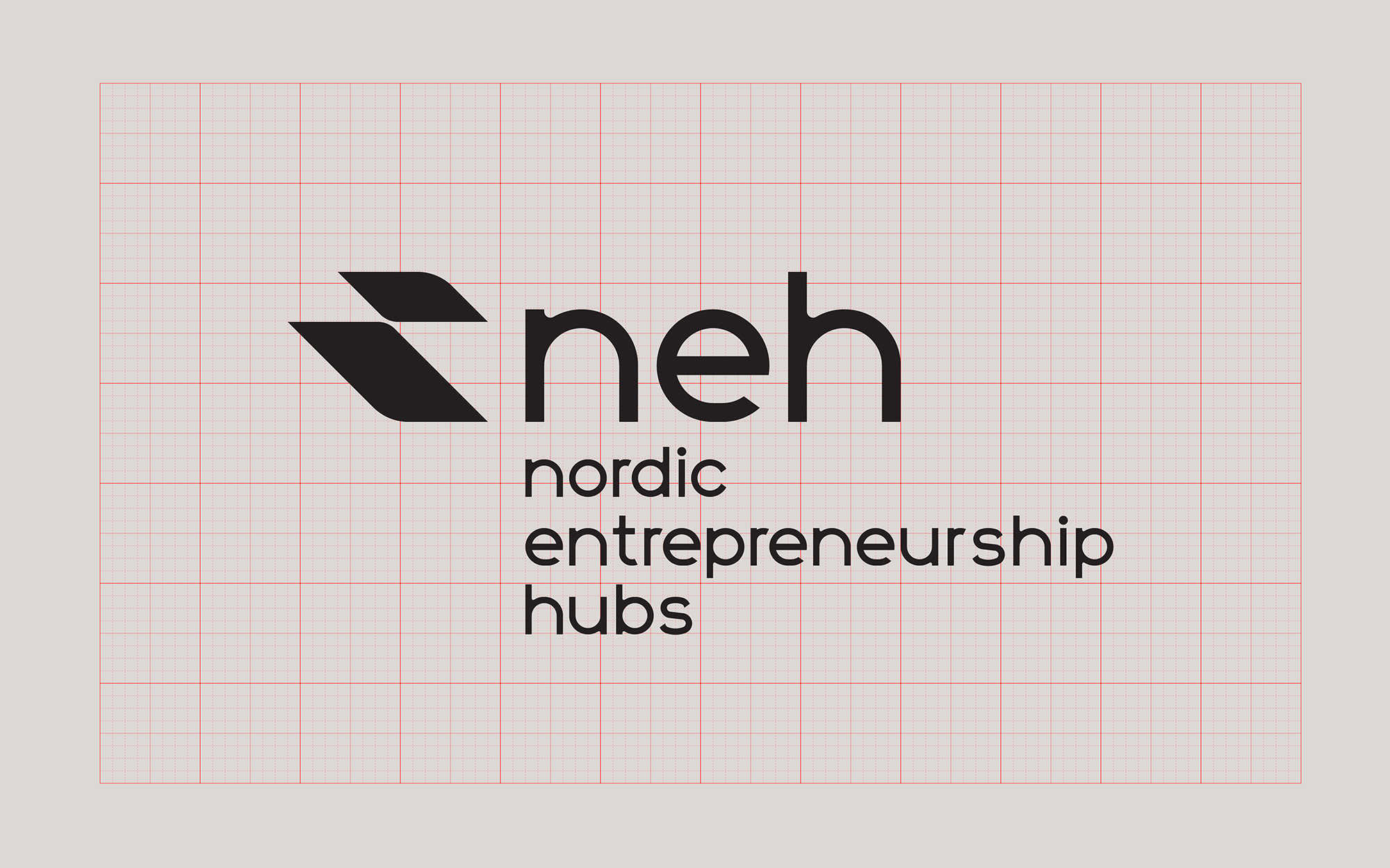 Nordic Entrepreneurship Hubs logo - short version - grid